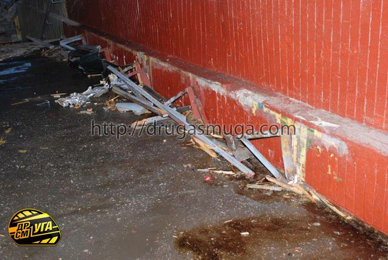 Honda Pilot залетел в подземный переход фото-4